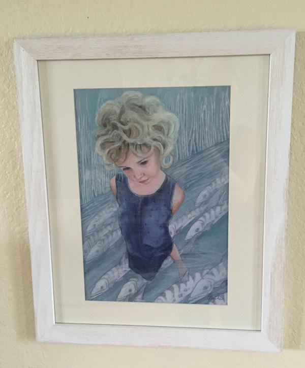 Little Girl in the Water by Andrea Tripke