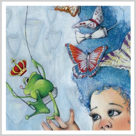 Little Frog Princess by Andrea Tripke