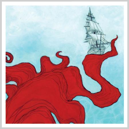 The Mermaid & the Boat by Andrea Tripke