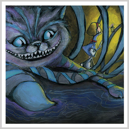 Cheshire Cat by Andrea Tripke