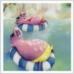 Lazy Pigs by Andrea Tripke